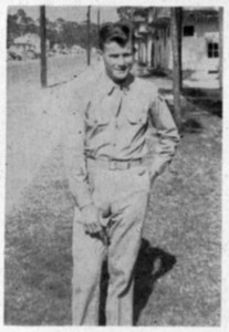 Issac Spencer London Jr. at Keesler Field